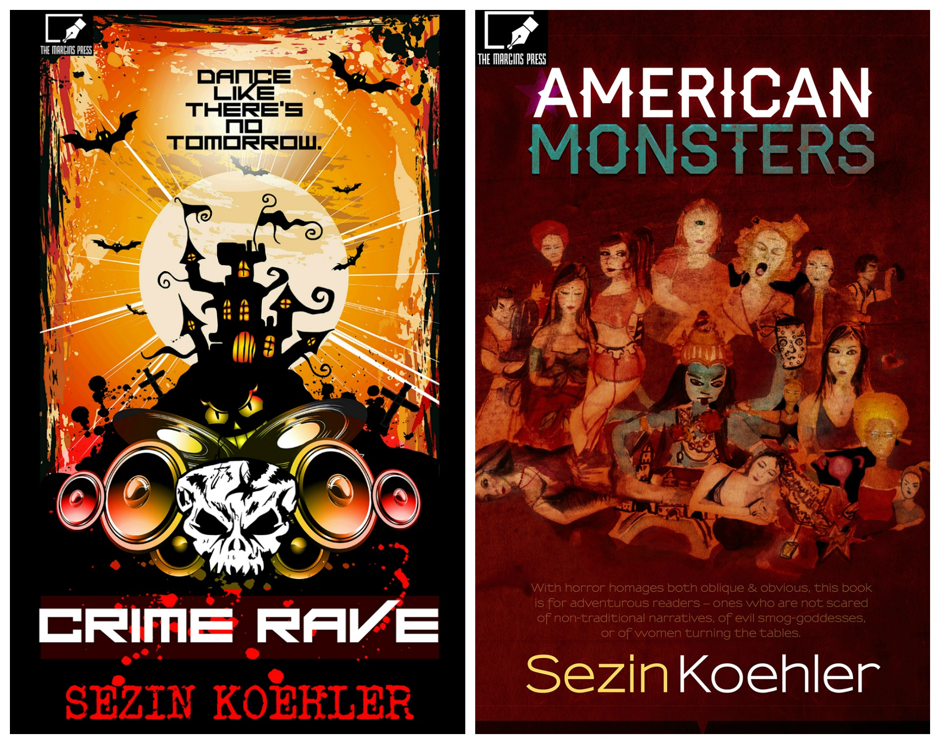 Crime Rave and American MOnsters full collage