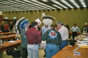 The treaty council at the UN.