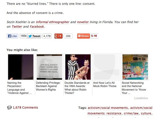 Blurred Lines Blog image